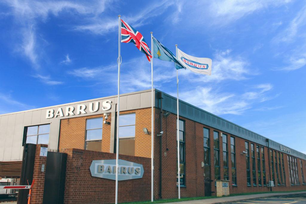Barrus headquarters in the UK