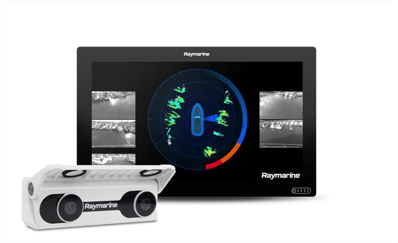 Raymarine and Emerson DockSense product shot