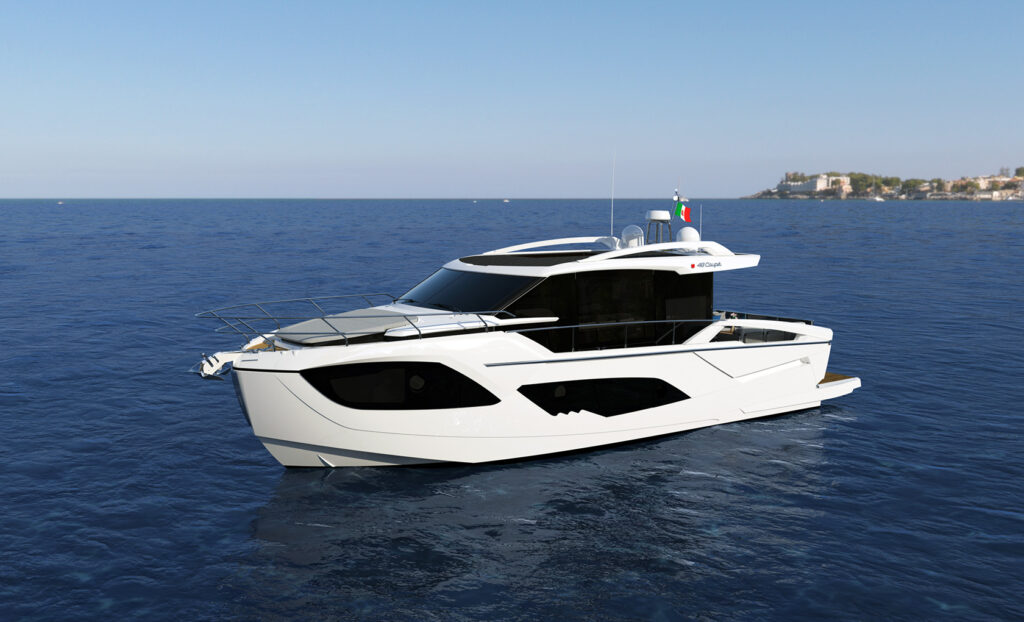 48 Coupe render anchored