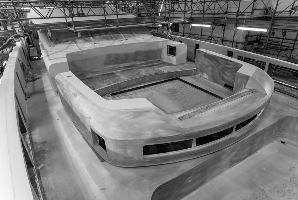 Tankoa 50m hull number 4 under construction