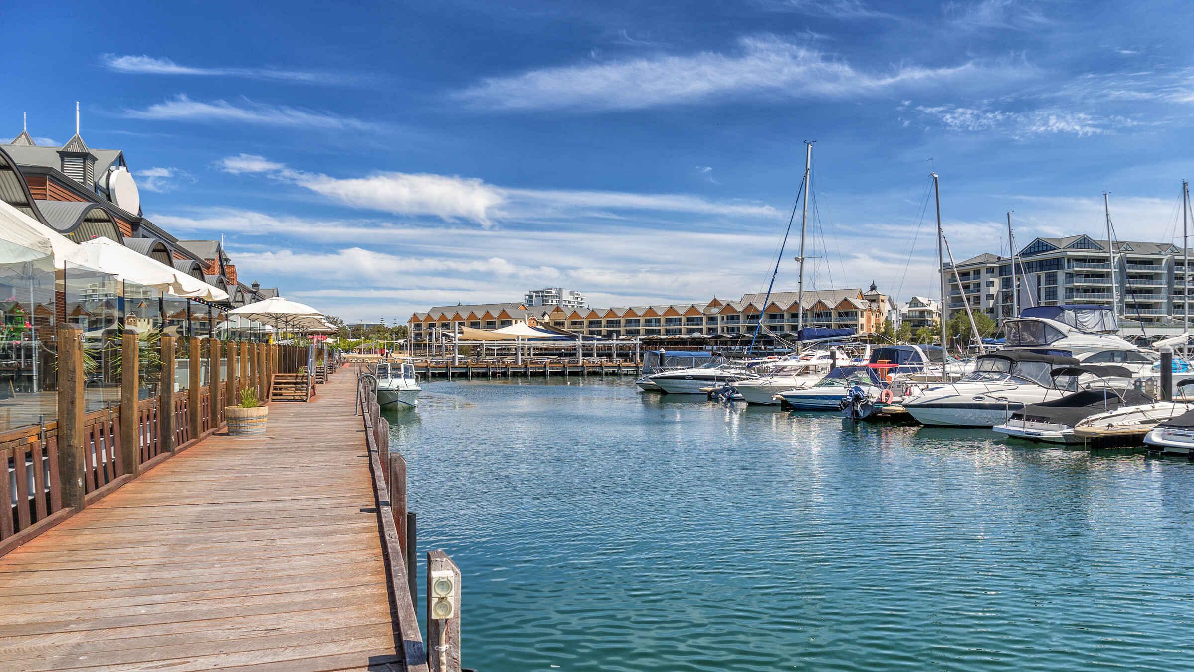 Mandurah harbour