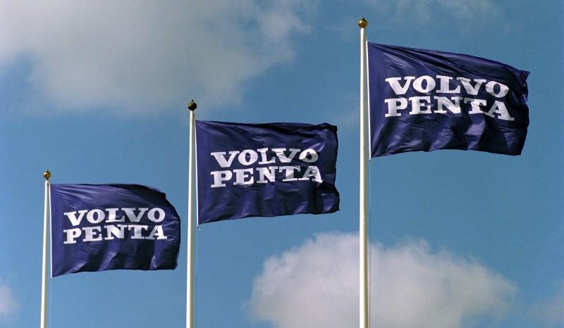 Volvo Penta flags