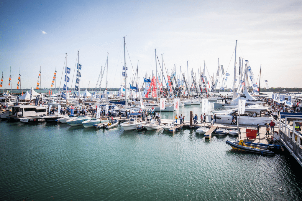 Southampton Boat Show in the UK
