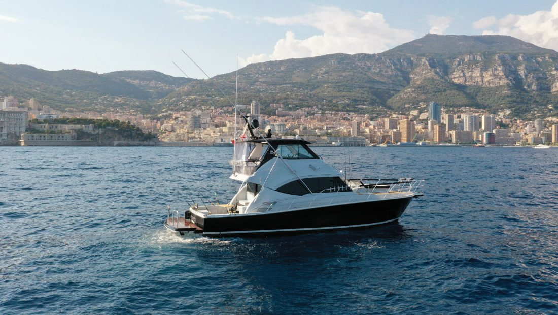 Riviera 52 Cruising on the French Riviera