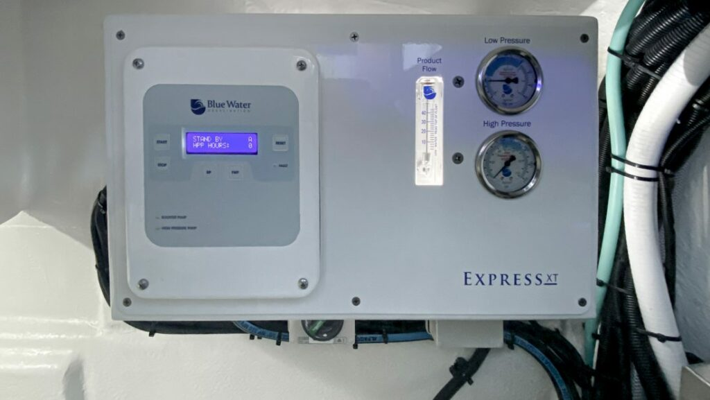 Blue Water Express XT watermaker product shot