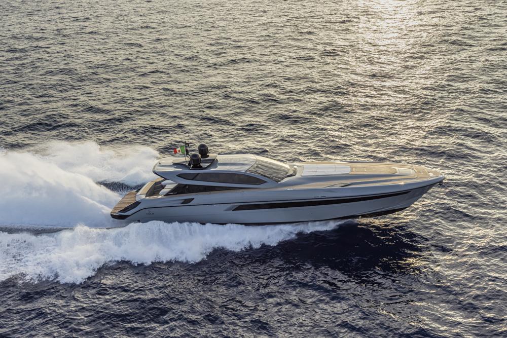 Otam 70HT cruising side profile