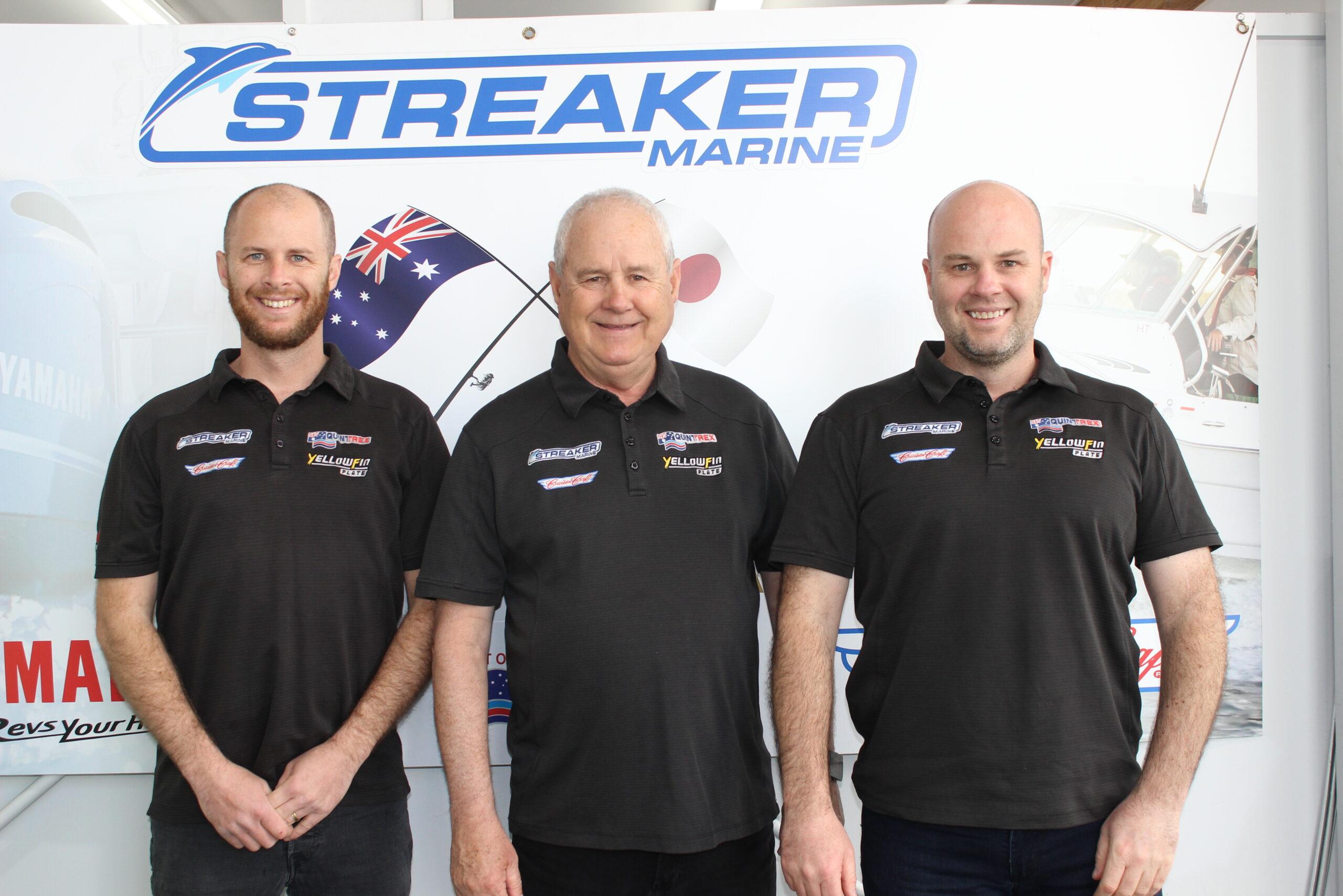 Streaker Marine team