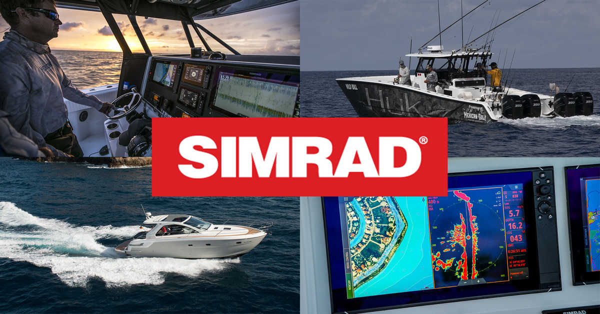 SIMRAD Yachting graphic for promtion