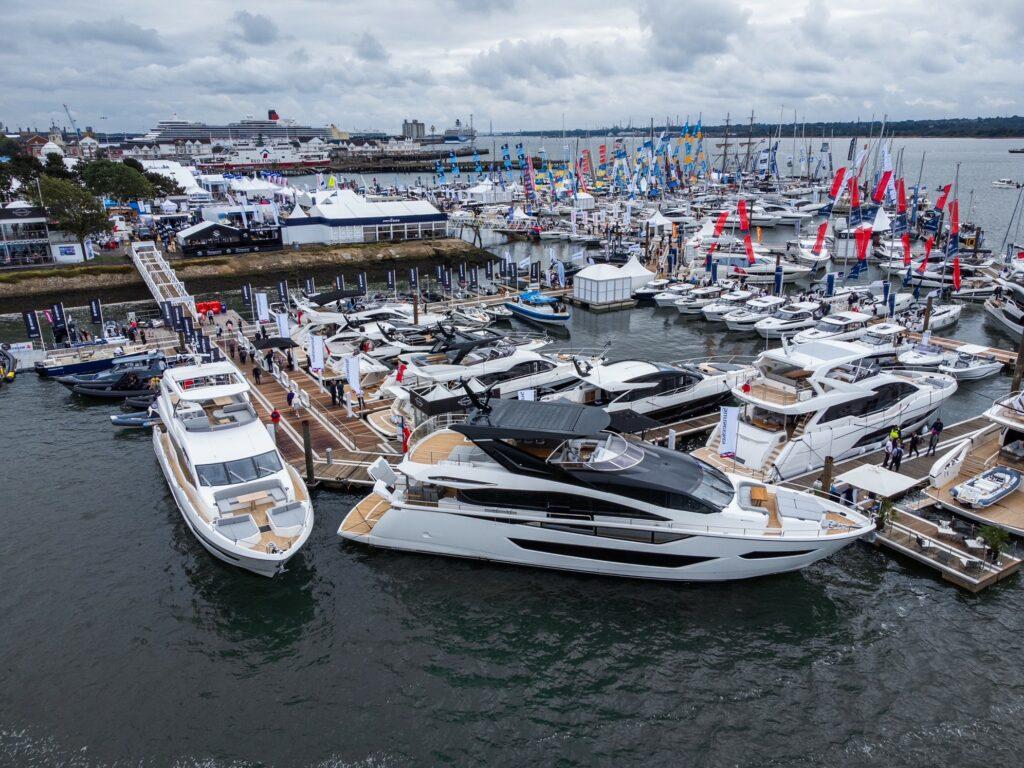 SUnseeker at Southampton Boat Show