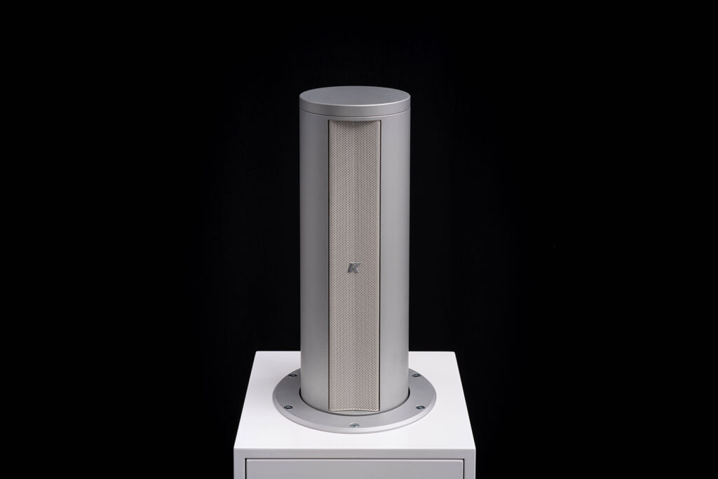 Videoworks pop up speaker