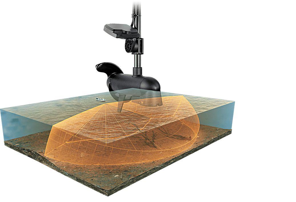 Diagram of Humminbird landscape scan