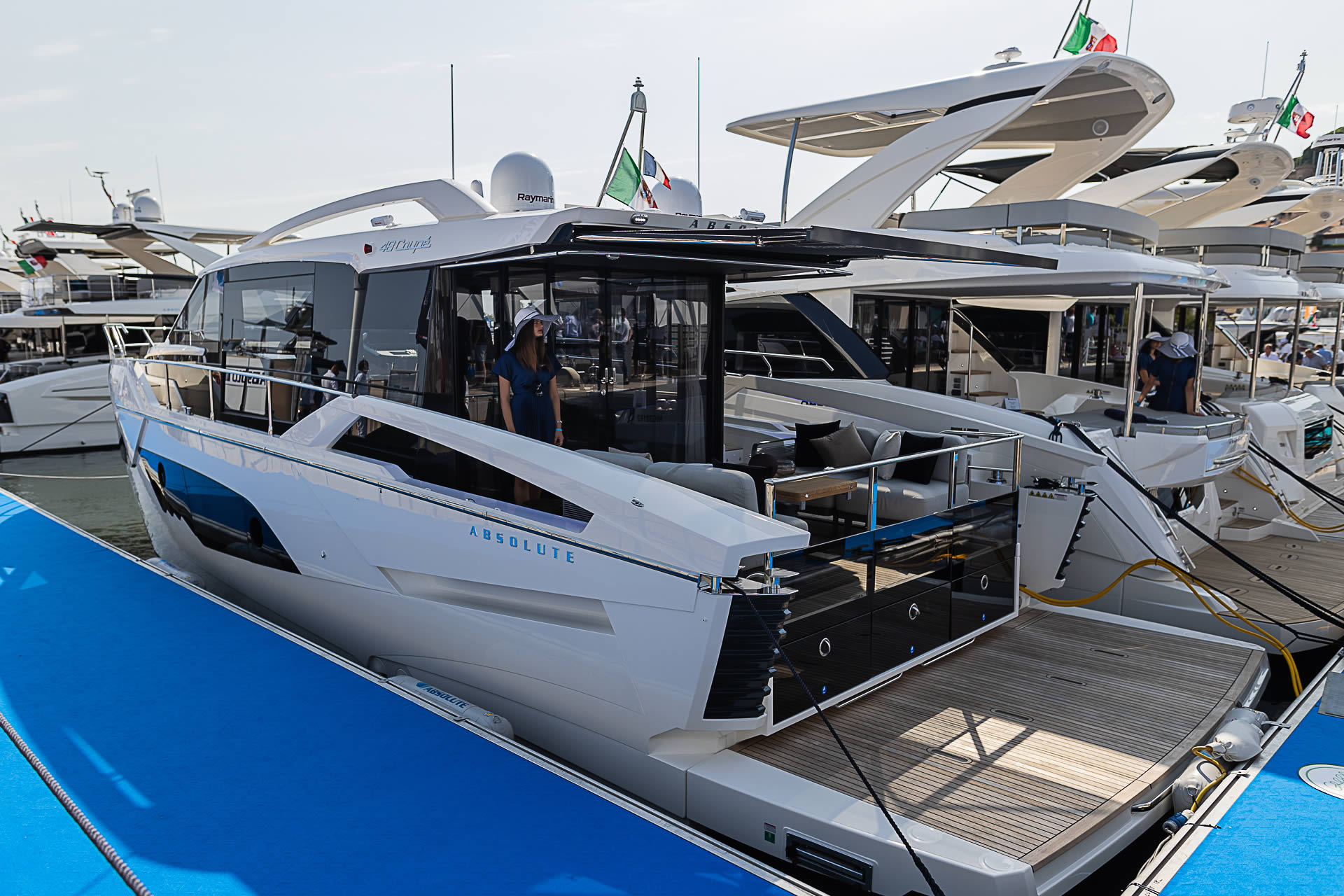 Absolute Yachts at the Cannes Yachting Festival 2021