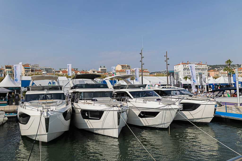 Full Absolute Yachts lineup in Cannes