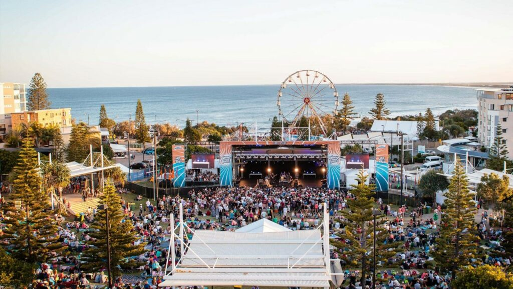Event in Queensland from above