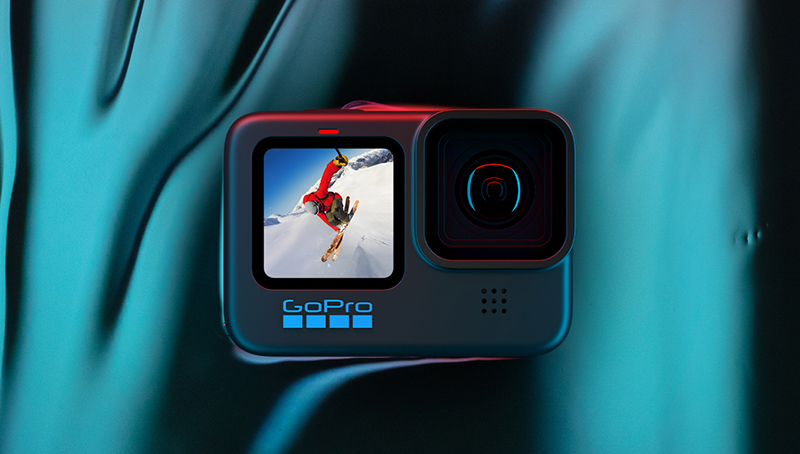 GoPro HERO10 Black promo shot