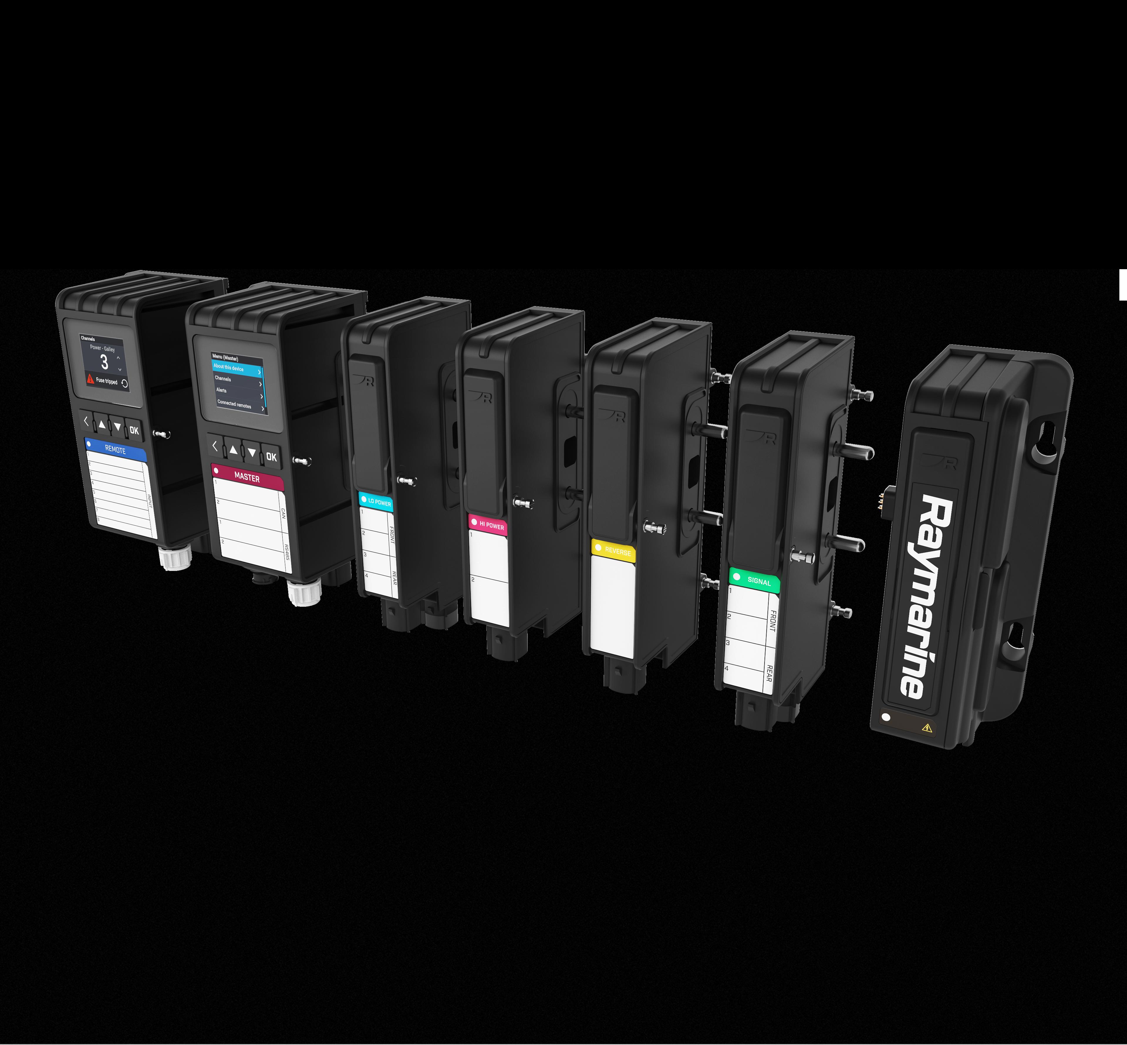Raymarine Yachsense modules product shot