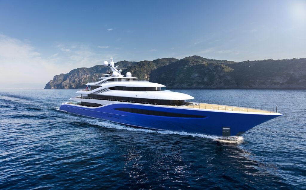 Turquoise Yachts Project Vento cruising forwards