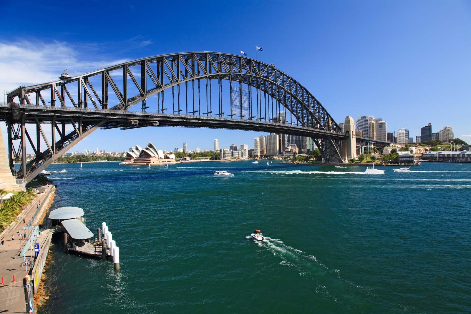 Shot of Sydney Harbour