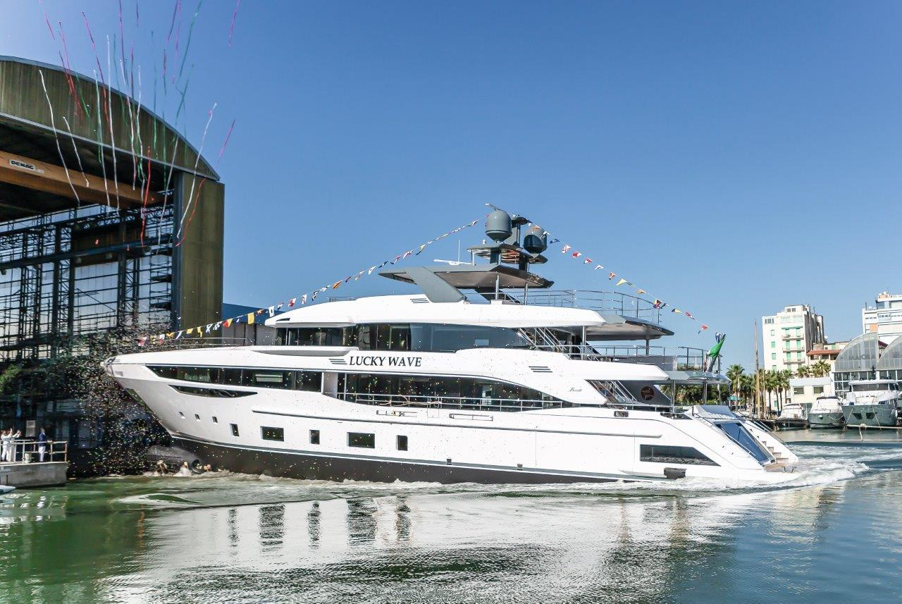 Lucky Wave from Benetti being launched