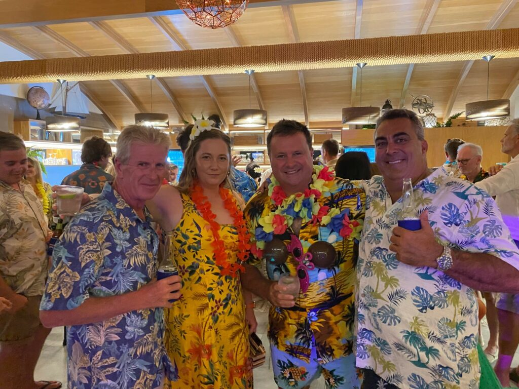 Guests enjoying themselves at the Queensland event