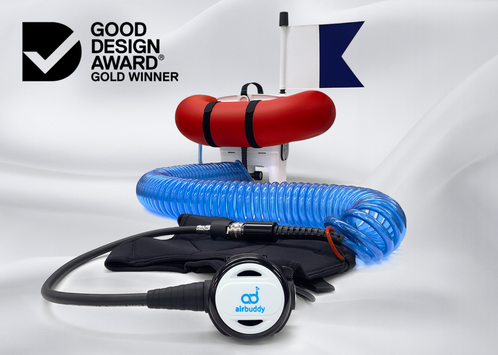 Air Buddy product shot for the Good Design Awards