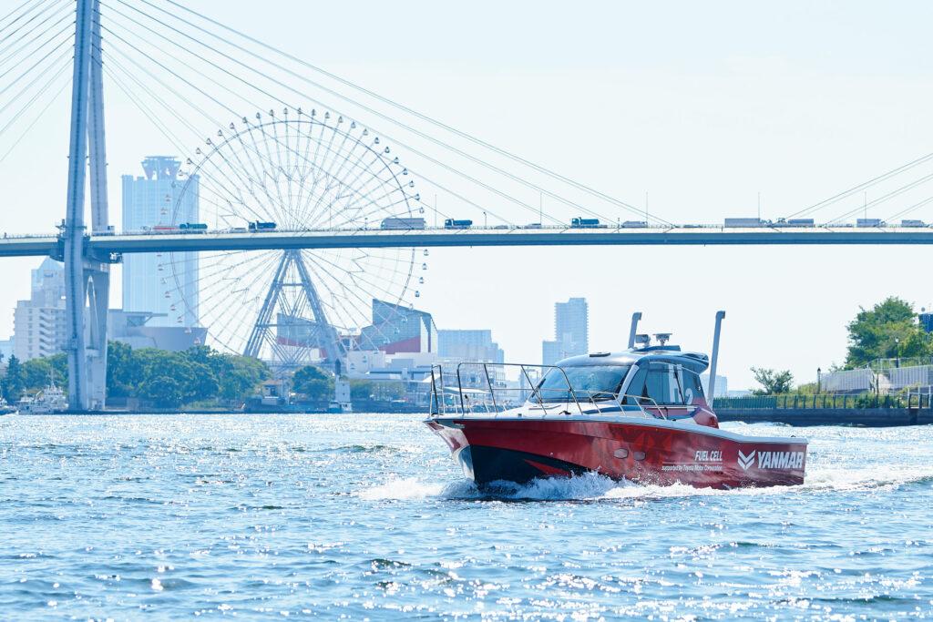 Yanmar hydrogen vessel cruising