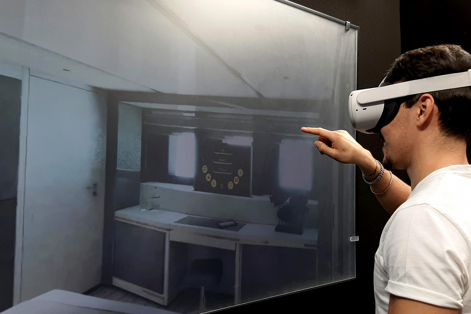 Videoworks virtual reality engineer using new system